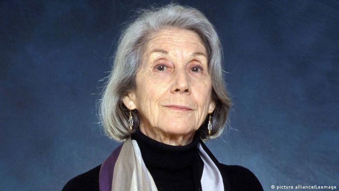 Anti-apartheid writer Nadine Gordimer dies, aged 90 | News | DW | 14.07.2014