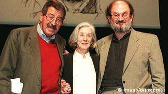 Salman Rushdie, Nadine Gordimer and Günter Grass, Copyright: imago / teutopress