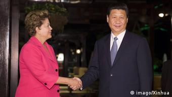 Xi Jinping and Dilma Rousseff (Photo: imago/Xinhua)