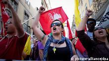 Portugal Arbeitslosigkeit Protest Jugendarbeitslosigkeit