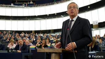 Jean-Claude Juncker im Europaparlament 15.07.2014