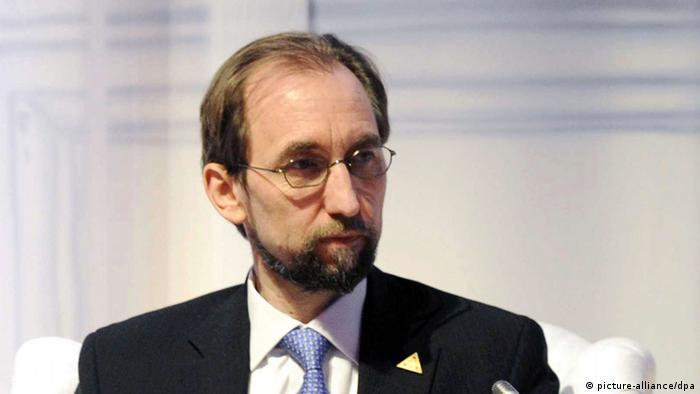 UN-Menschenrechtskommissar Seid al-Hussein (Foto: DPA)