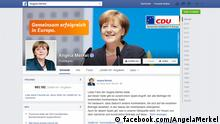 Screenshot Facebook Angela Merkel