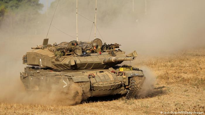Israelischer Panzer (Foto: getty)
