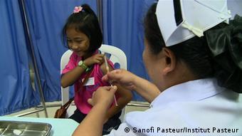 Tres aplicaciones requiere la vacuna desarrollada en Francia.