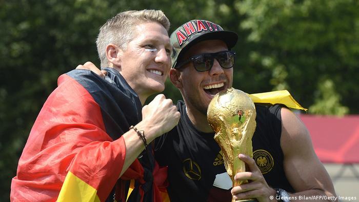 Weltmeister Feier Berlin 15.07.2014