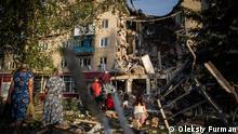 Ukraine Slowiansk EINSCHRÄNKUNG