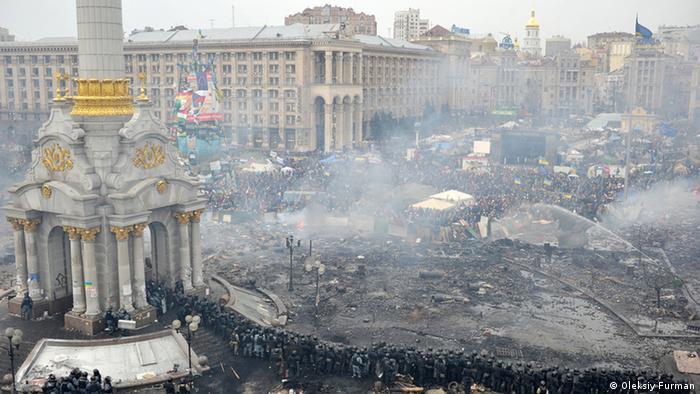 Ukraine Kiew Maidan ARCHIV & EINSCHRÄNKUNG