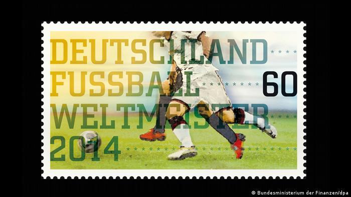 Sonderbriefmarke zum Fußball-Weltmeistertitel4