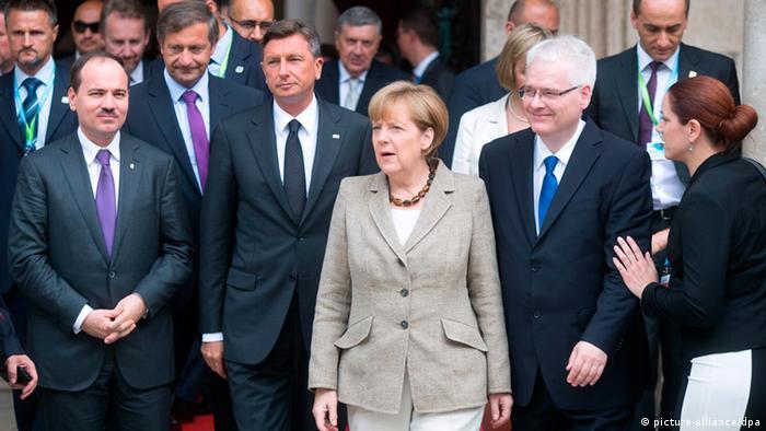 Kroatien Dubrovnik Merkel 15.7.2014