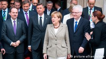 Angela Merkel u Dubrovniku 15.7.2014.