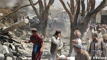 Afghanistan Anschlag Markt 15.7.2014