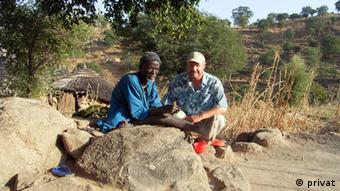 Gerhard Müller-Kosack in the Gwoza mountains in 2005