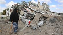 Israel Palästina Gaza Ruine