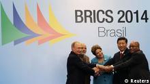 Brasilien Fortaleza BRICS Treffen 15.07.2014
