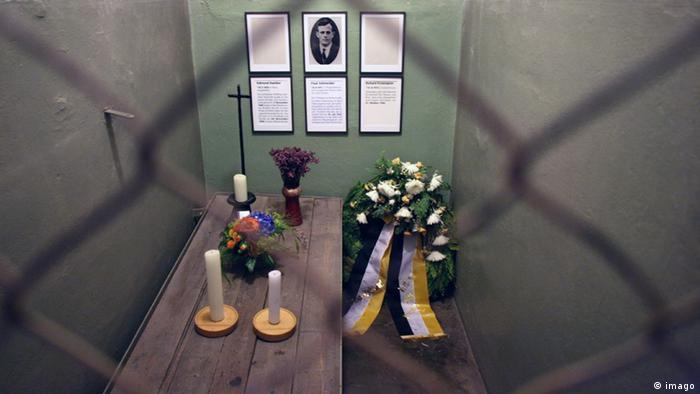 Pfarrer Paul Schneider Zelle im KZ Buchenwald