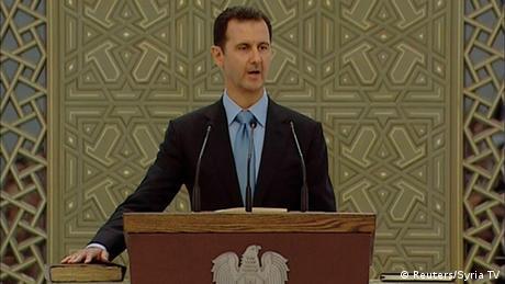 Bashar al-Assad Vereidigung 16.07.2014