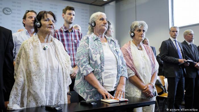 Urteil zur Klage der Mütter von Srebrenica gegen die Niederlande 16.7.2014