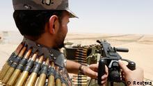 Saudi Arabien Soldaten an der Grenze zu Irak 14.07.2014