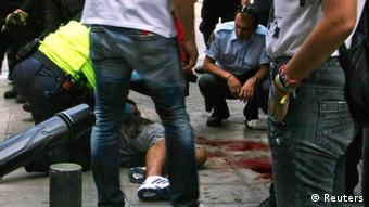 Опасност од левичарскиот и десничарскиот тероризам во Грција