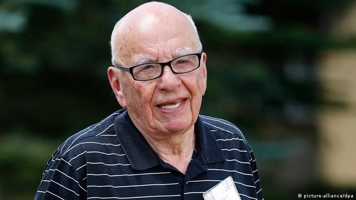 Media Mogul Rupert Murdoch, at the Allen and Company 32nd Annual Media and Technology Conference, in Sun Valley, Idaho, USA, 10 July 2014.