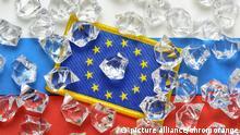 Symbolbild EU und Russland Sanktionen