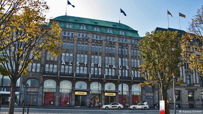Das Alsterhaus in Hamburg