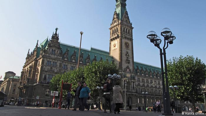 Bild vom Hamburger Rathaus