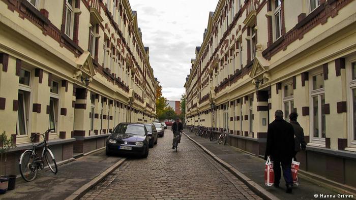 Beckstraße in Hamburg