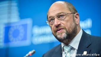 Martin Schulz (Photo: EPA/STEPHANIE LECOCQ)