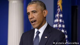 US-Präsident Barack Obama bei PK