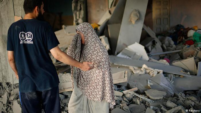 Zerstörung in Gaza-Stadt (Foto: Reuters)