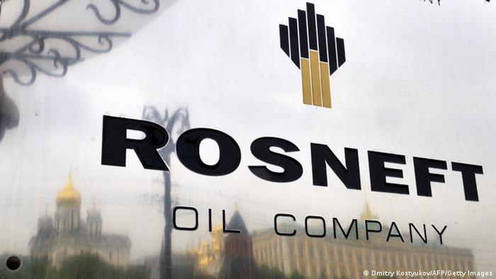Rosneft Logo Archiv 2011 (Dmitry Kostyukov/AFP/Getty Images)