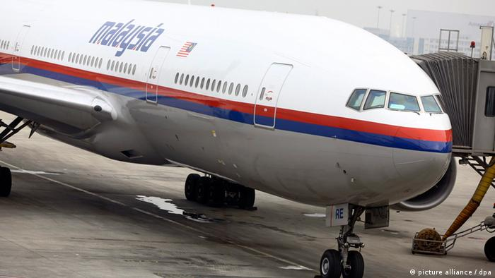 Symbolbild Malaysia Airlines Boeing 777-200 (picture alliance / dpa)