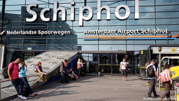 Аэропорт Схипхол (фото из архива)