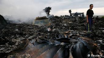 Absturzstelle Malaysia Airlines MH-17 Ukraine