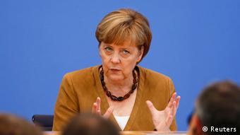 Angela Merkel PK 18. Juli 2014