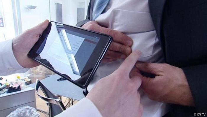Auch bei der Telemedizin sorgt der 5G-Standard für neue Anwendungsbereiche (Foto: DW-TV)