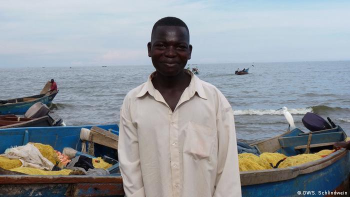 Fischer Joshua Katumba HIV- positiv (Foto: Simone Schlindwein)