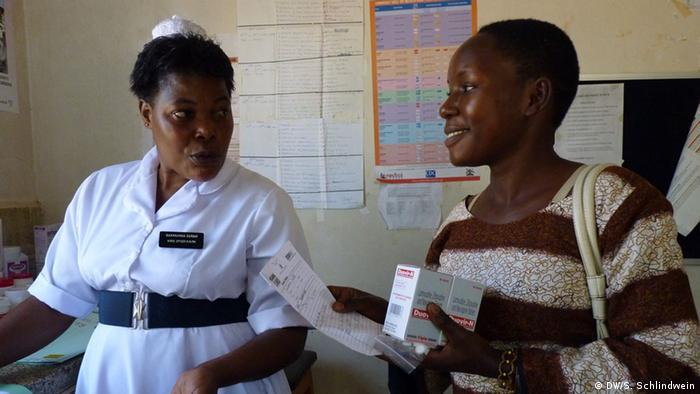 Aids Medikamente werden in Uganda kostenlos verteilt (Foto: Simone Schlindwein)