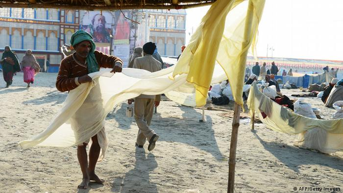 Indien traditionelles Kleidungsstück Dhoti (AFP/Getty Images)