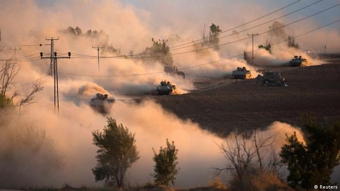 Gazastreifen Bodenoffensive Israel 18.07.2014