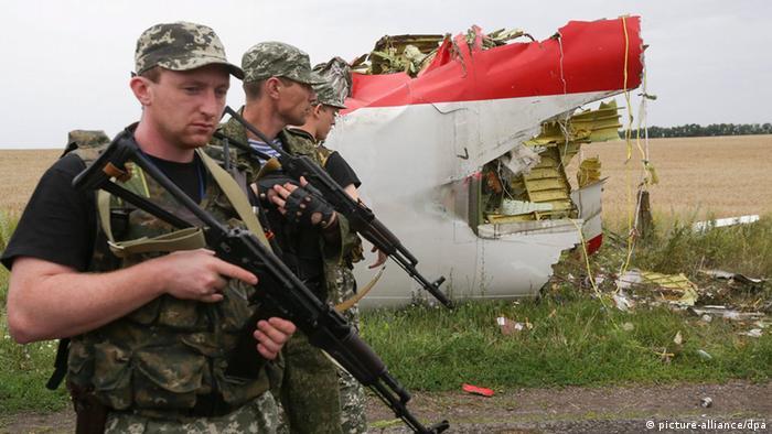 MH17 Flugzeugabsturz Absturzstelle Ukraine 18.7.2014