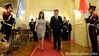 Argentinien China Cristina Fernandez de Kirchner Xi Jinping
