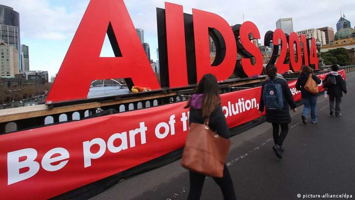 AIDS conference Melbourne (Photo: picture alliance)