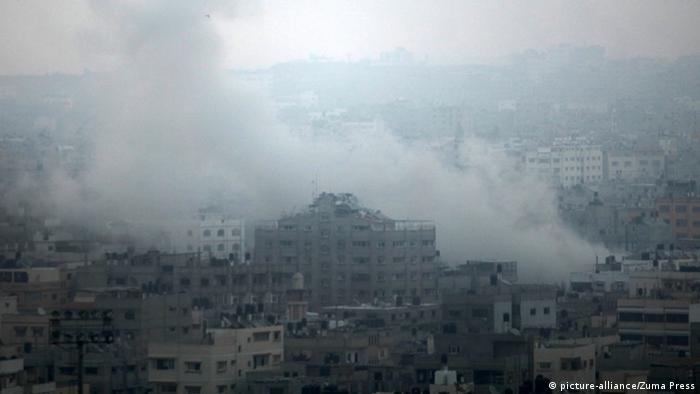 Gaza City under heavy fire from Israel