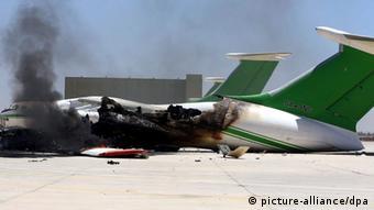 Libyen Gefechte am Flughafen in Tripolis 16.07.2014