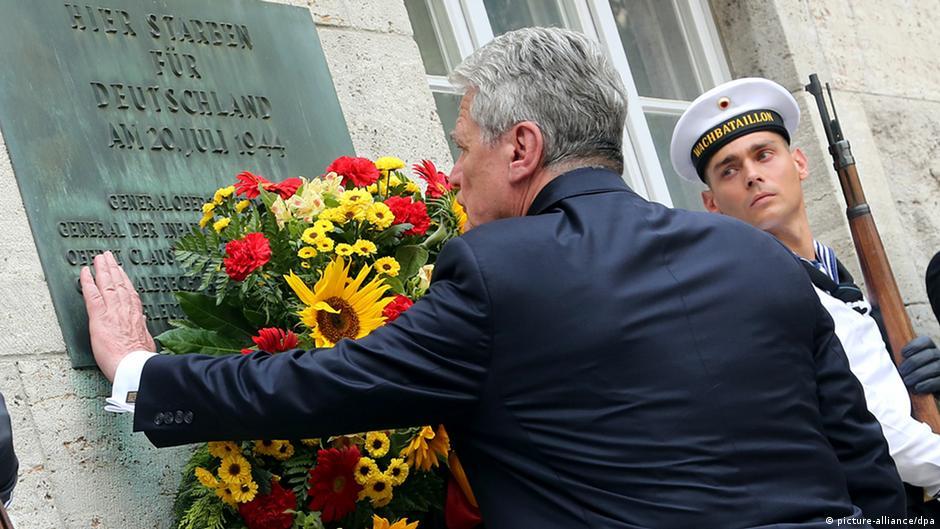 برلين تحيي الذكرى السبعين لمحاولة اغتيال هتلر | DW | 20.07.2014
