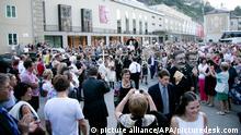 Salzburger Festspiele 2014 Jedermann Umzug