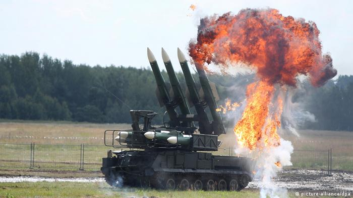 Flugabwehrraketensystem Buk (Foto: Valeriy Melnikov/RIA Novosti)